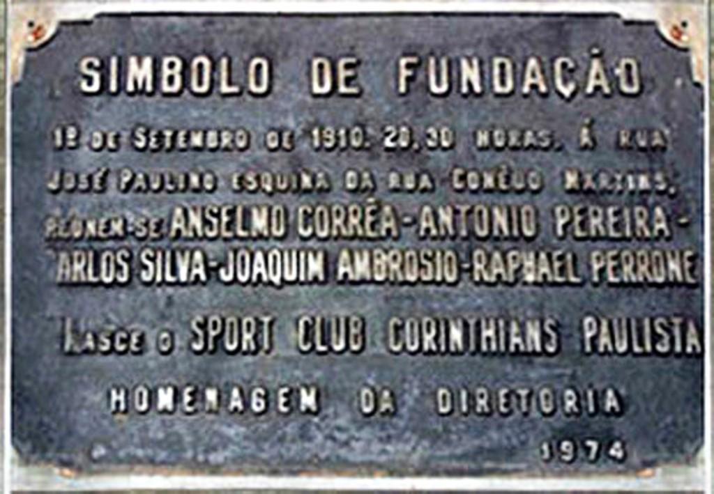 Corinthians. Nome  Sport Club Corinthians Paulista. Fundação  01 de setembro  ... 665bbb83f0191