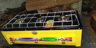 بوتاجاز 3 شعله - مسطح | معرض المنشية للأدوات المنزلية