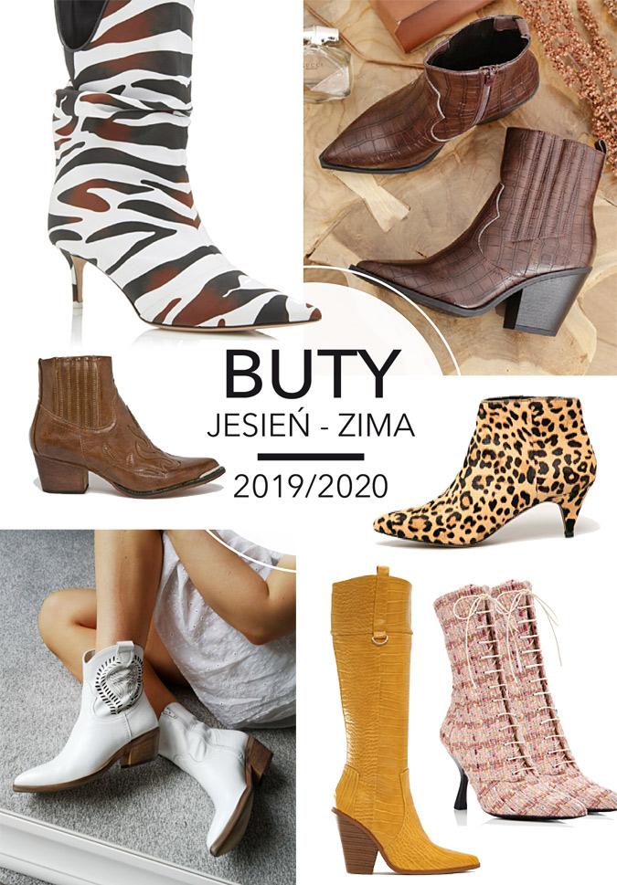 Buty damskie jesień zima 2020