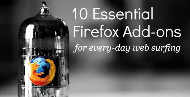 10 Essential Firefox Add-ons