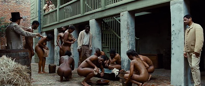 Think, that black slave lady naked