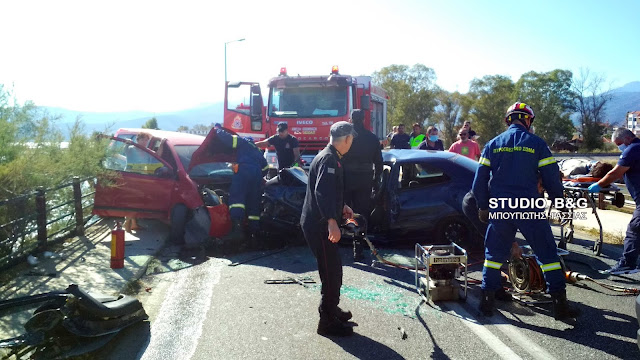 Αργολίδα: Η ανακοίνωση της αστυνομίας για το θανατηφόρο τροχαίο στη γέφυρα της Ν. Κίου