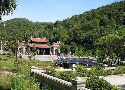 Cho thuê xe ở tại Hải Dương- chùa Côn Sơn