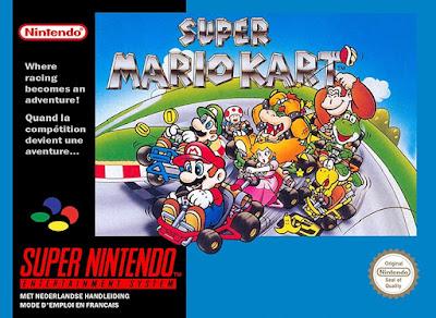 Jogar online rom Super Mario Kart snes