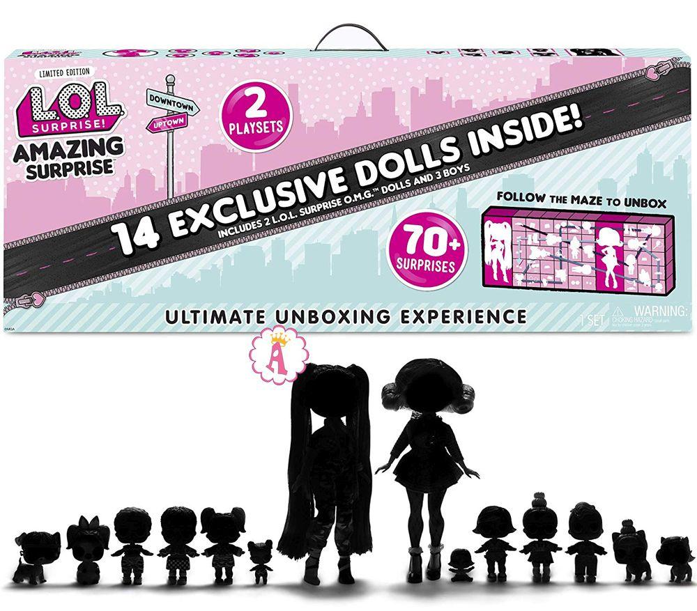 Подарочный набор Лол Сюрприз 14 кукол