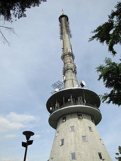"""Radiowo-Telewizyjne Centrum Nadawcze """"Święty Krzyż""""."""