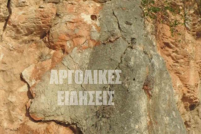 Αποκαλυπτικός ο φακός στο Παλαμήδι: Η γυναίκα μορφή στην πέτρα (βίντεο)
