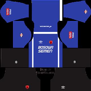 Skin Dream League Soccer PSM Makassar