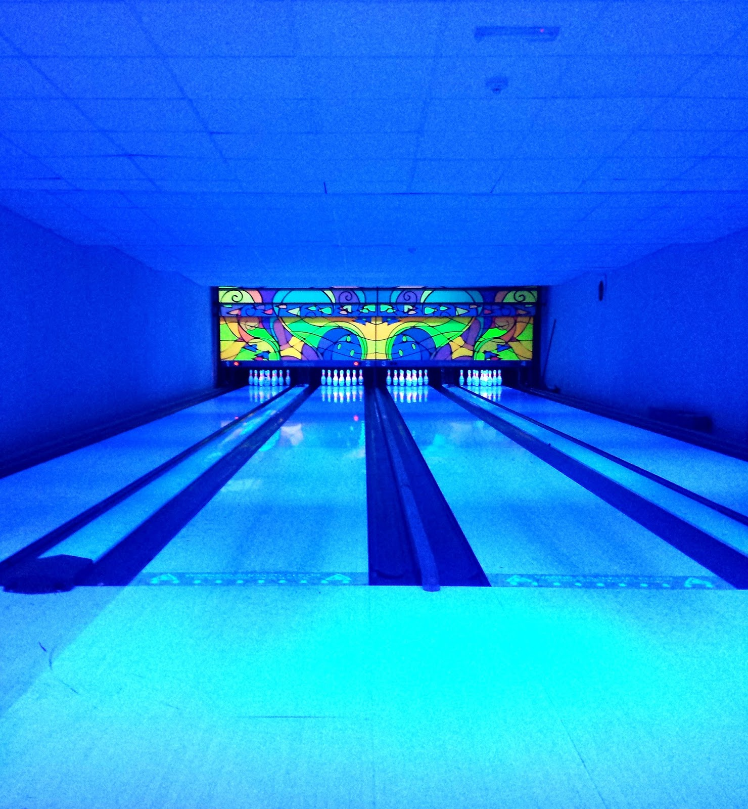 Hellidon Lakes Bowling Alley
