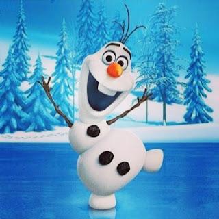 MOLDES GRATIS DE APLIQUE DE OLAF para fiesta Frozen DIY