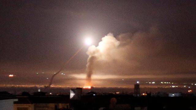 ئیسرائیل: چەند پێگەیەکی فەیلەقی قودسمان لە سووریا بۆردوومان کرد