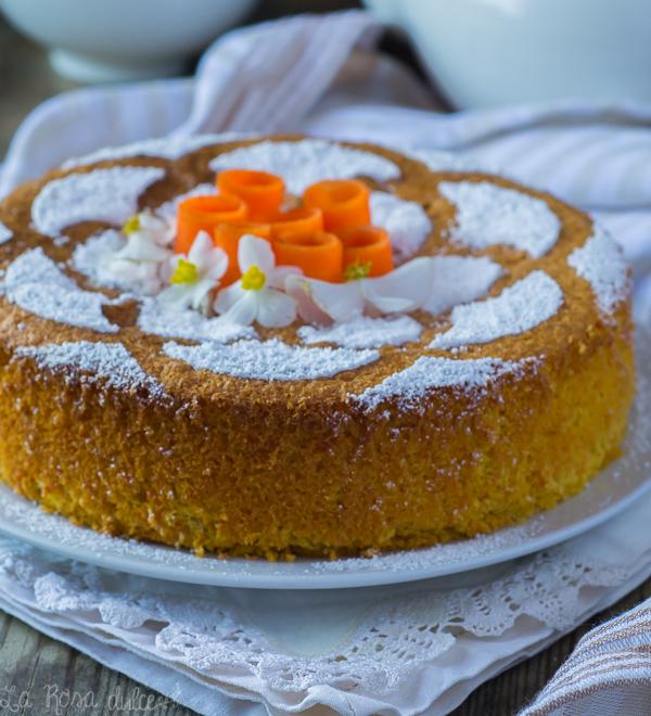 Tarta de zanahoria italiana sin harina #monsiercuisineplus #singluten #sinharina #sinlacteos