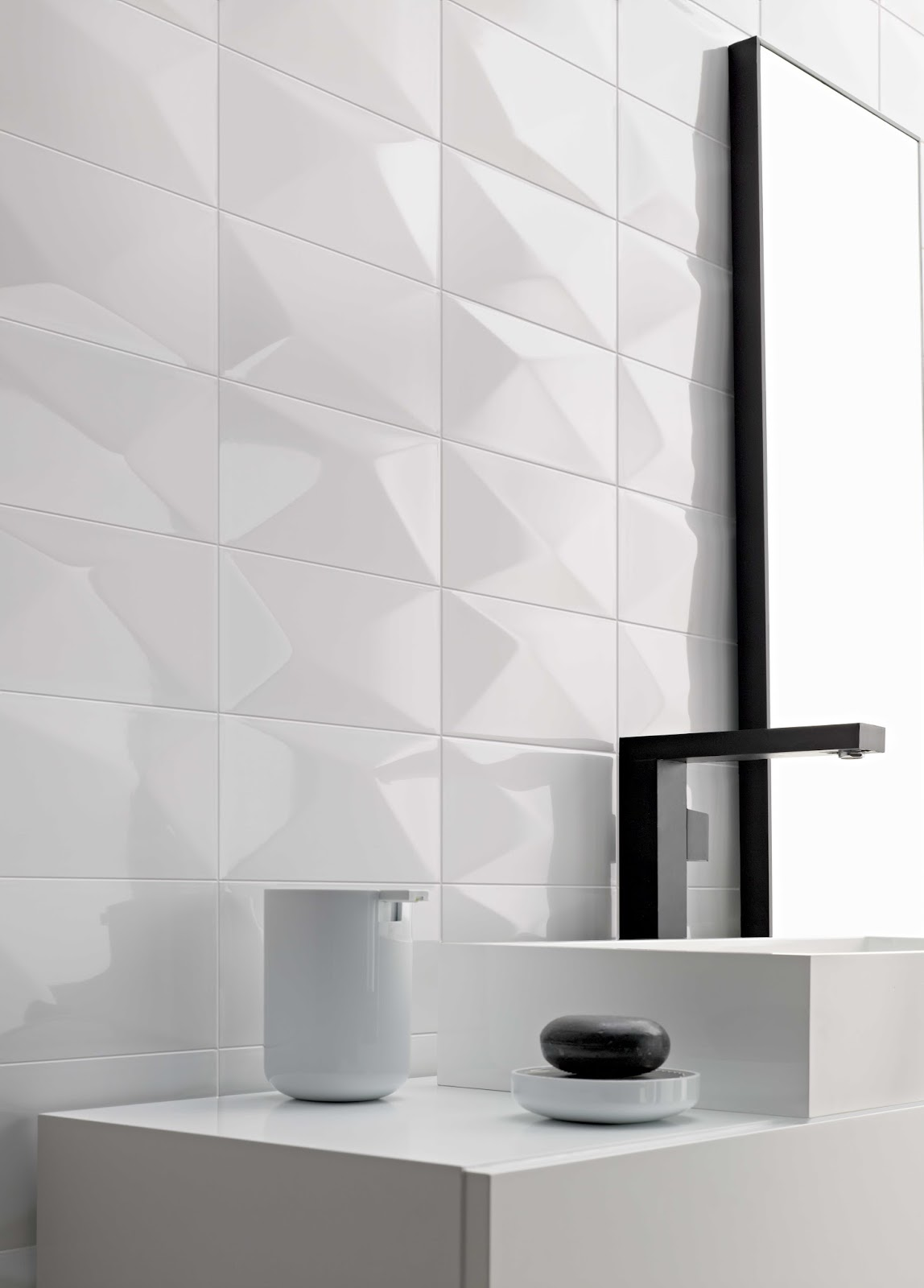 Isc Surfaces Glamour By Florida Tile Features Striking 3
