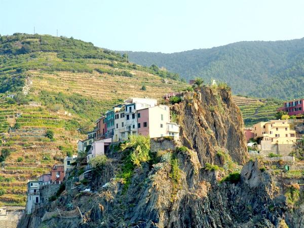 Manarola Italy view
