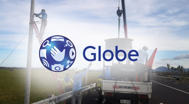 Globe 'fully' restores mobile and data services in Albay, Camarines Sur