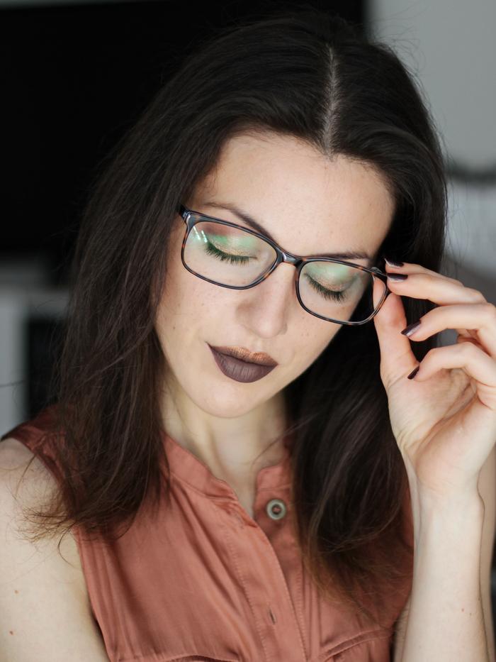 Sommer Make up Brillenträger