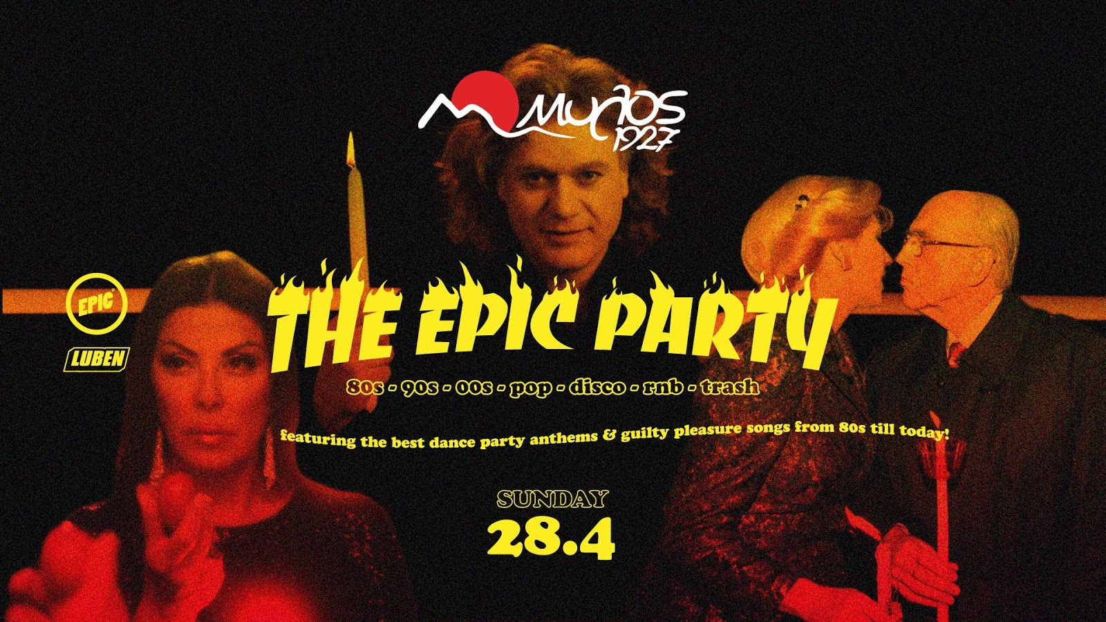 Τhe EPIC Party - Larisa - 28/4 στο ΜΥΛΟ 1927