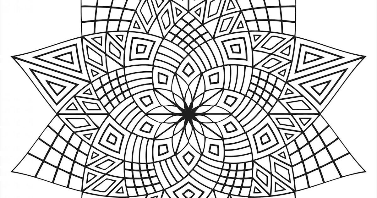 einfache erwachsene mandala malvorlagen pdf - free mandala