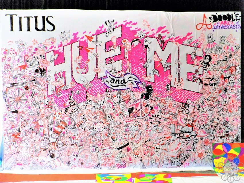 "Hue and Me | Art Appreciation Event  | Blog Post by @TheGracefulMist (www.TheGracefulMist.com) - Arts, Beauty, Books, Fashion, Health, Lifestyle, and Travel Blog/Website in the Philippines - Art Works and Paintings - Doodles of ""Hue and Me"" by Doodle Art Enthusiasts with Titus"