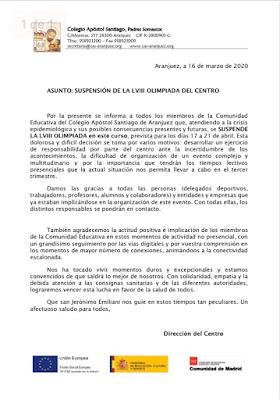 Olimpiada Santiago Aranjuez