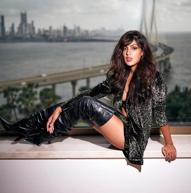 Rhea Chakraborty looks hot