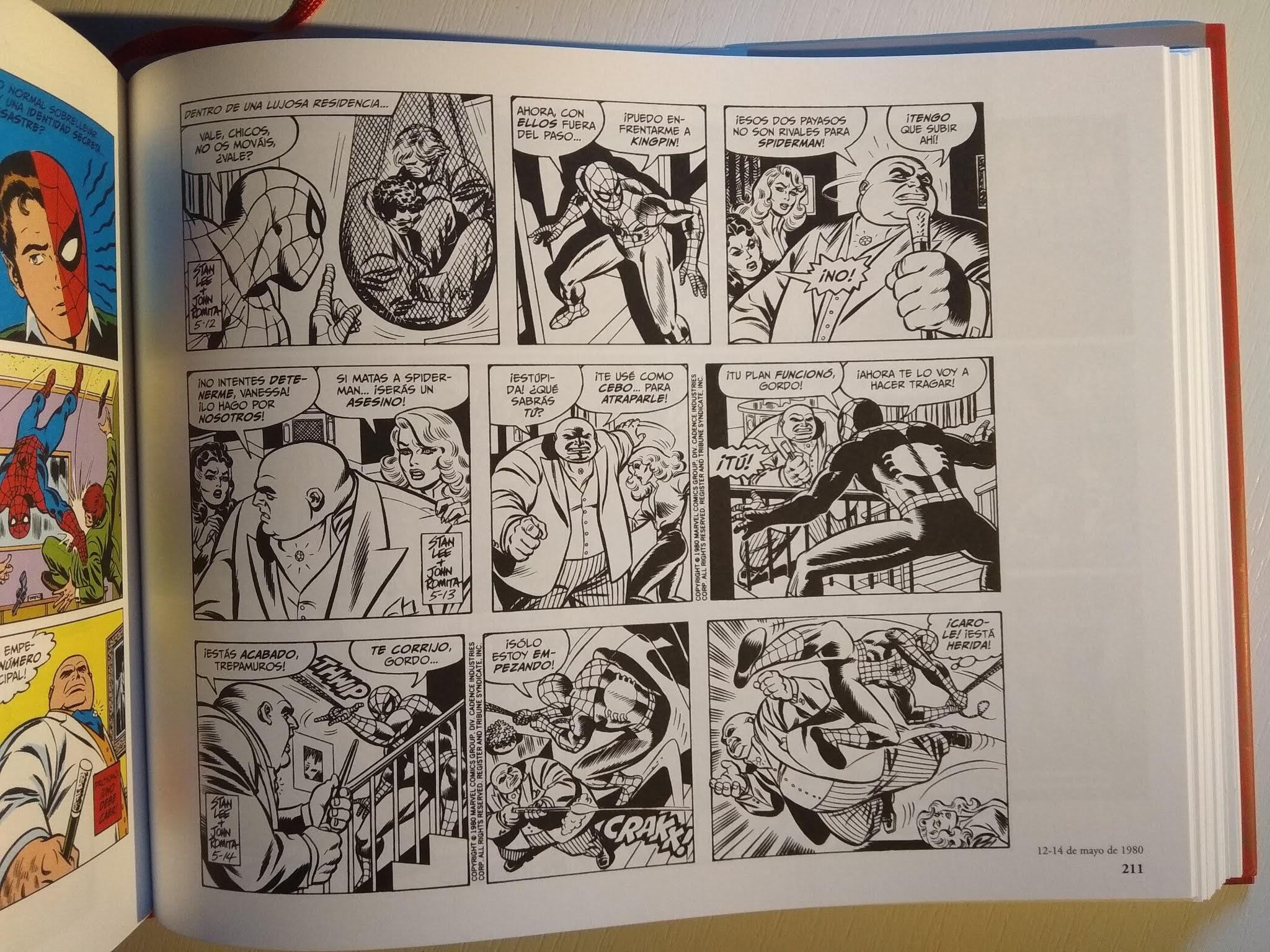 El Asombroso Spiderman: Las Tiras de Prensa 1979-1981