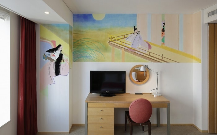 No. 27 – Park Hotel Tokyo Artist Room 'The Tale of Genji' designed by Takushi Mizuno