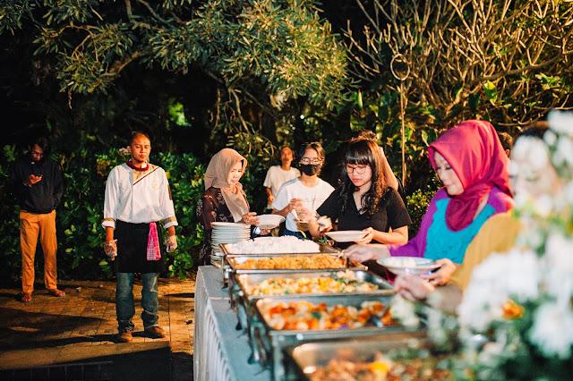 Night Party bersama Cateringky, Penyedia layanan jasa Catering di Puncak