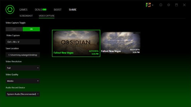 Download Game Booster Razer Cortex Screenshots