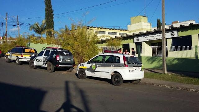 Rebelião na cadeia de São Mateus do Sul