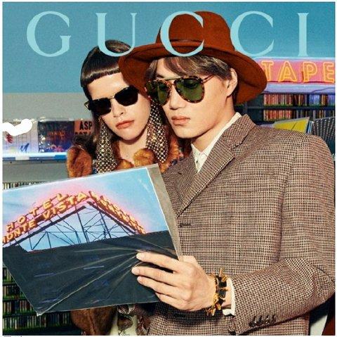 [PANN] Kai, Gucci'nin dünya çapındaki modeli oldu