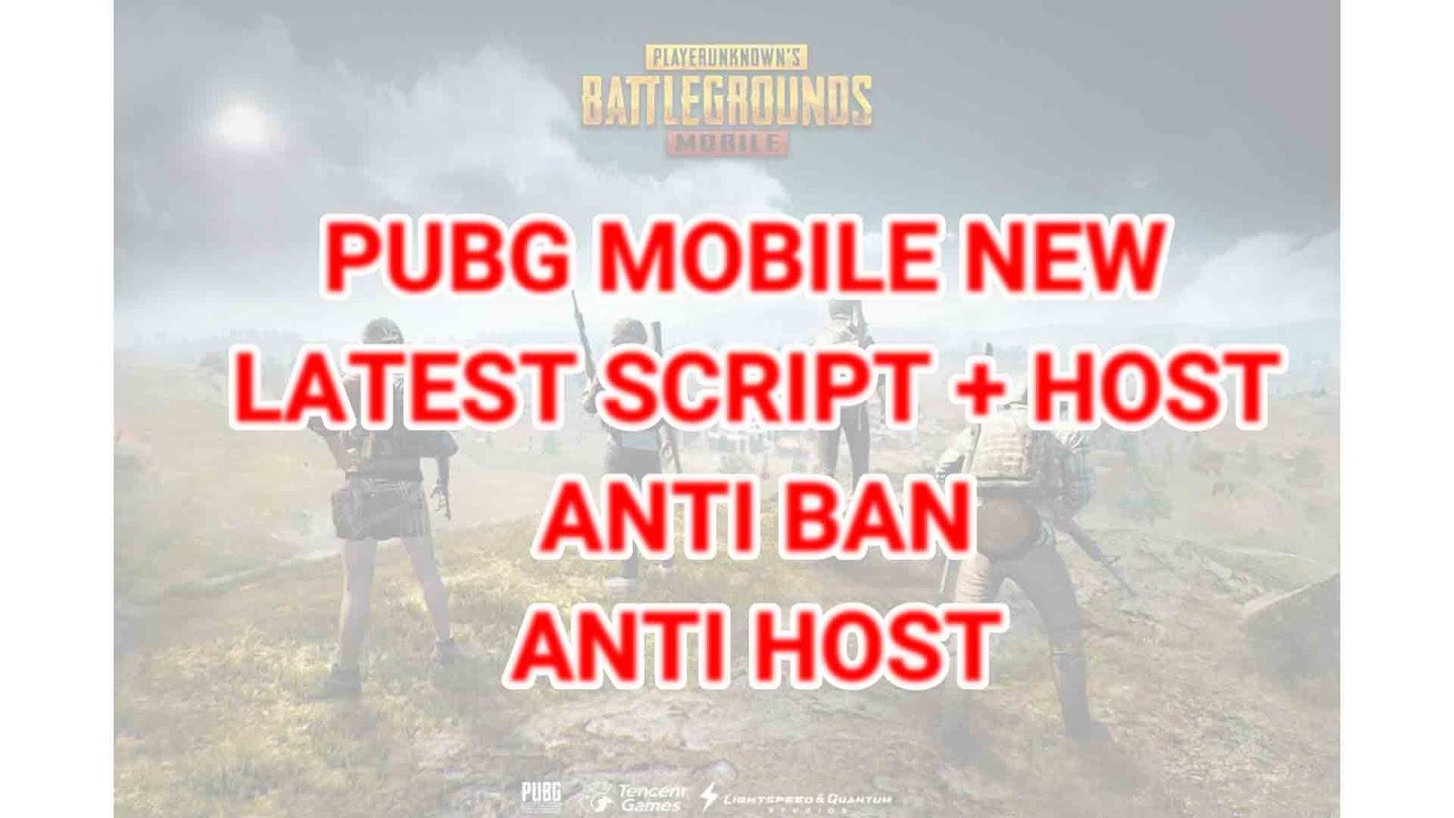 PUBG Mobile Vietnam Anti Ban Script + Anti Ban Host