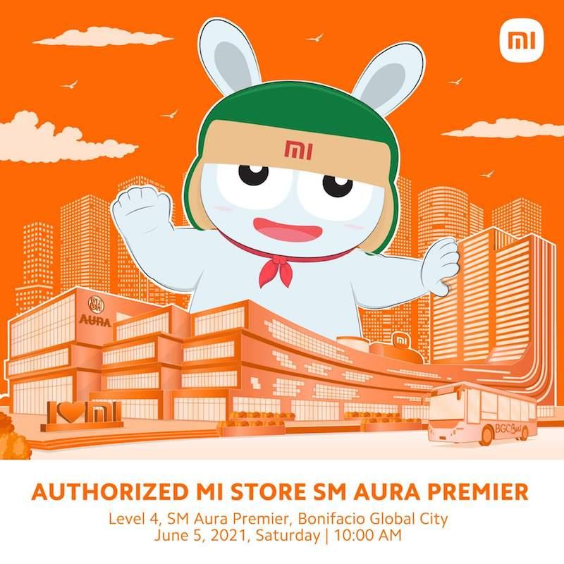 Xiaomi to opens Authorized Mi Store in SM Aura Premier