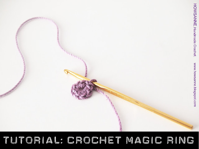 Crochet Magic Circle Tutorial : Howsanne Handmade Crochet