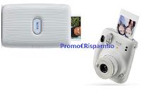 """Vision Ottica """"#ComeTiVediANatale """" : vinci gratis fotocamera istantanea Instax by Fujifilm, mini stampante e buoni fino a 500 euro"""