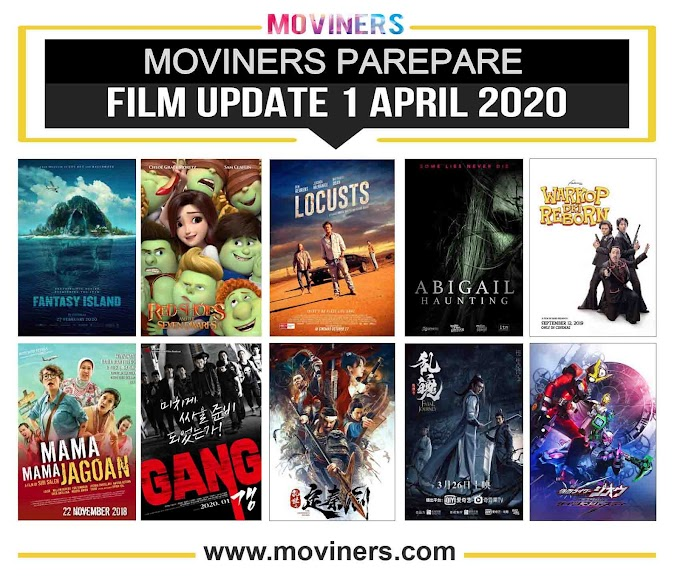 FILM UPDATE 1 APRIL 2020