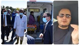 سمير الوافي يهاجم و يصف منتقديه بالمرضى و ط... ة و..... و يكشف حقيقة زيارة الوالي و الأطباء لوالدته....