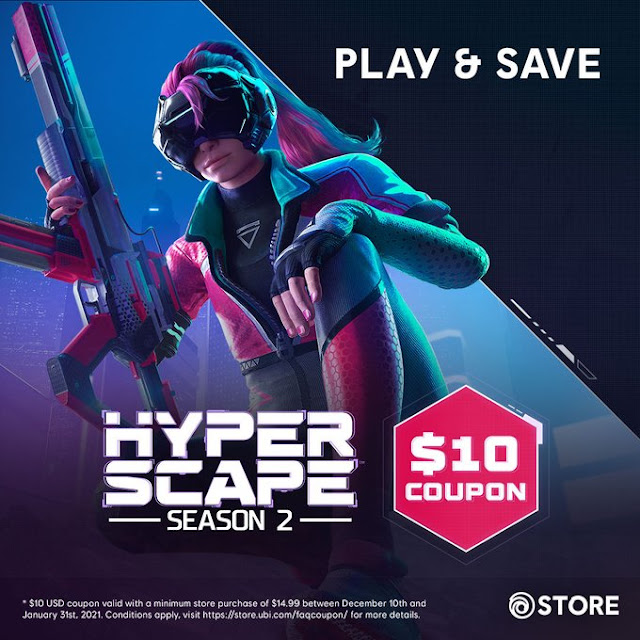 Ubisoft is offering a $10 Credit to everyone playing Hyperscape
