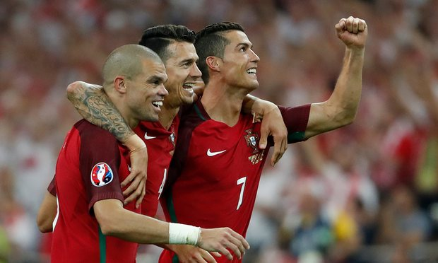 Quaresma the hero again as Portugal beat Poland on penalties to reach the semi-finals