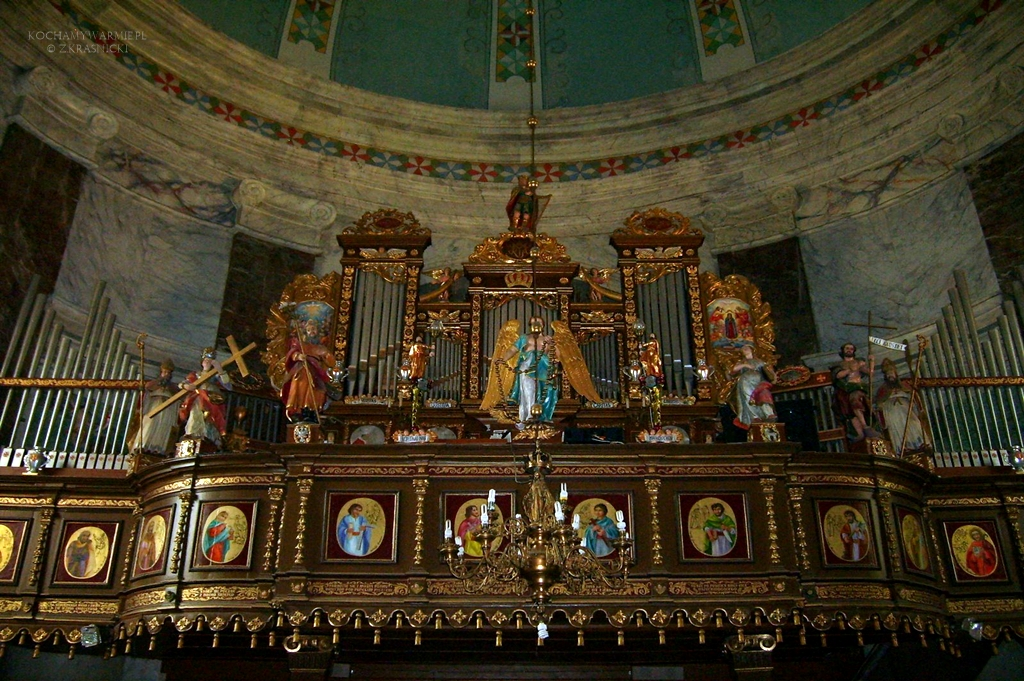 Stoczek Klasztorny, sanktuarium, organy