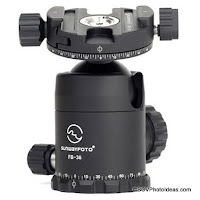 New Sunwayfoto FB Series Lightweight Ball Heads