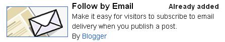 구글블로그 이메일로 글 받아보기 가젯