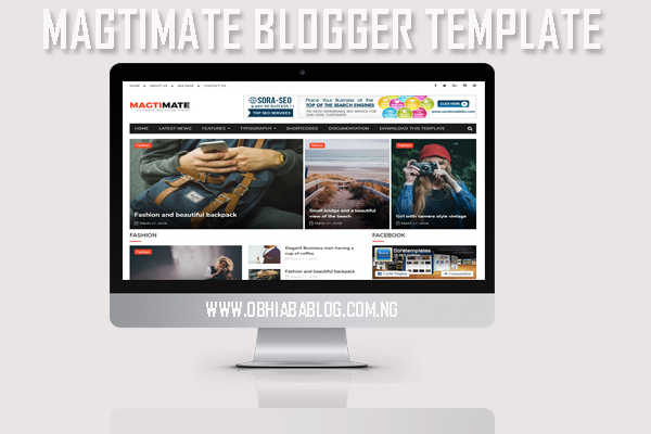MagtiMate Free Blogger Template