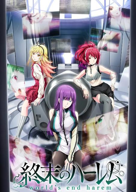 Anime 'Shuumatsu no Harem' confirma data de estreia