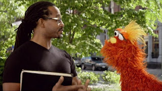 Murray What's the Word on the Street tool, Sesame Street Episode 4308 Don't Wake the Baby