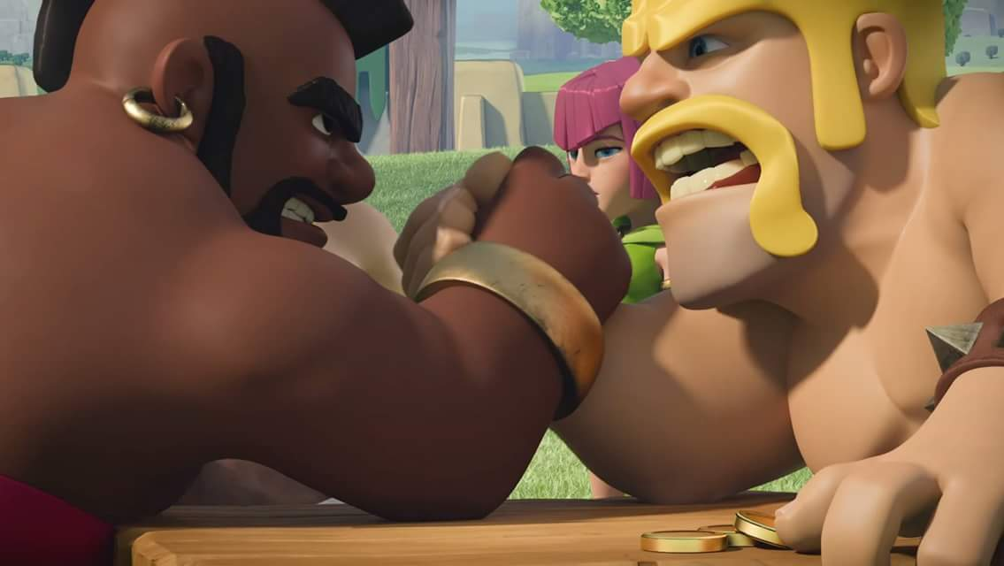 clan battle in Clash royale