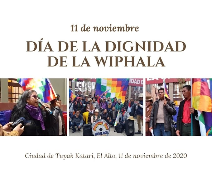 DECLARACIÓN  POR LA DIGNIDAD DE LA WIPHALA