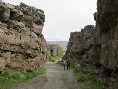 Thingvellir Canyon, Iceland