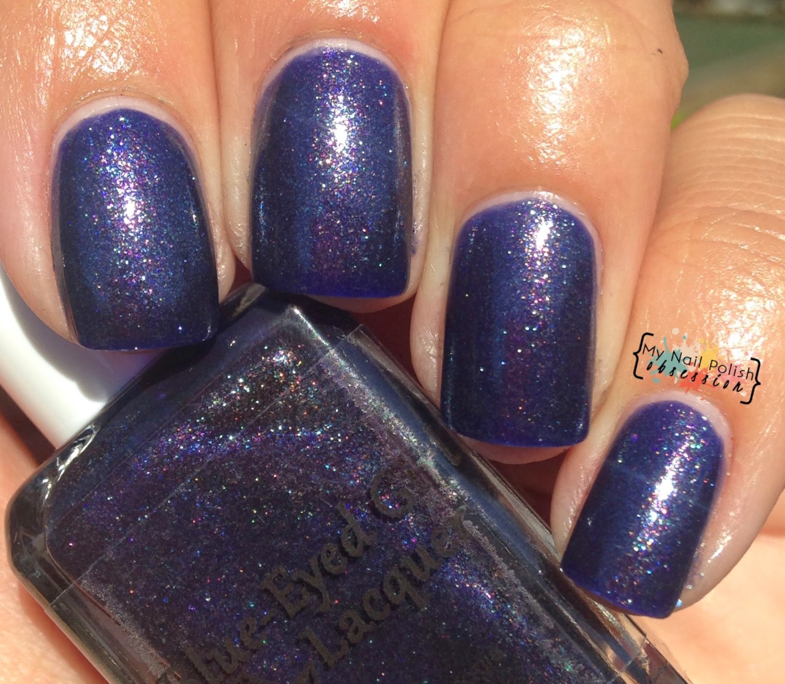 Blue Eyed Girl Lacquer I Wished For You, Too