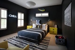 habitación juvenil moderna